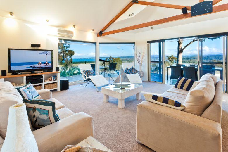 Pure Indulgence Living Area